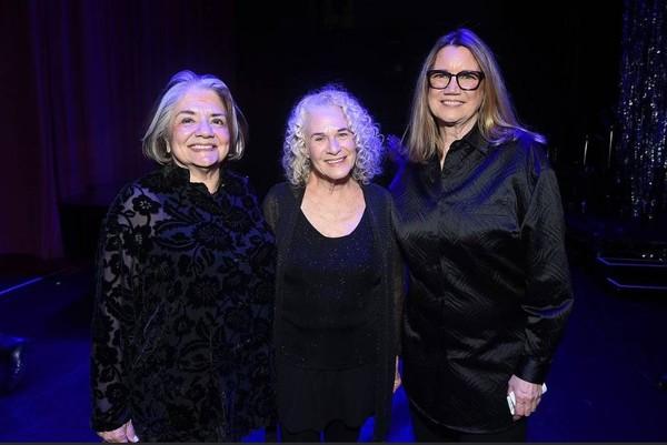 Fran Visco, Carole King and Cindy Harrell-Horn Photo