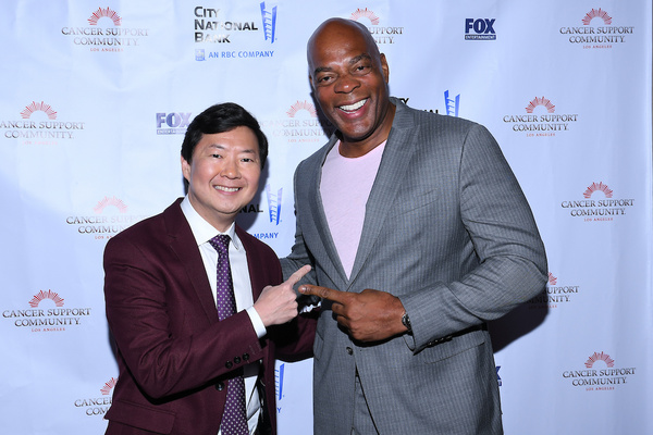 Ken Jeong and Alonzo Bodden  Photo
