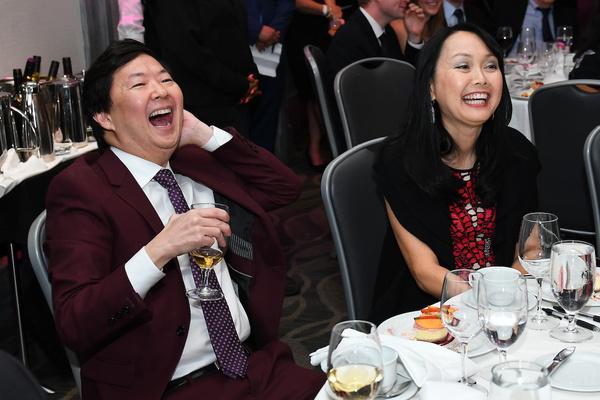 Ken Jeong and his wife Dr. Tran Ho Photo