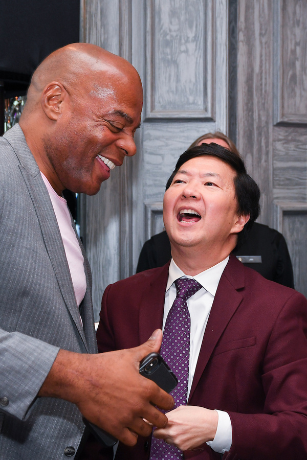 Alonzo Bodden and Ken Jeong Photo