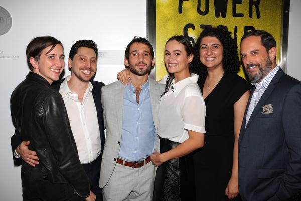 Photo Flash: POWER STRIP Celebrates Opening Night