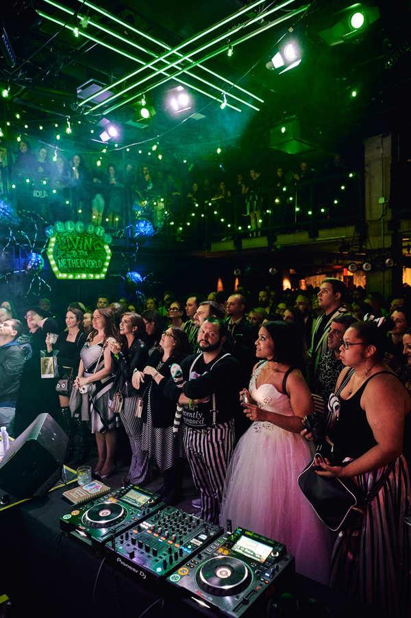 Photo Flash: BEETLEJUICE Stars Creep Out at BEETLEJUICE BLACK & WHITE BALL