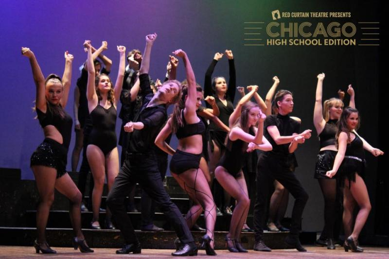 BWW Review: CHICAGO: HIGH SCHOOL EDITION at Red Curtain Theatre RAZZLE DAZZLE THE AUDIENCE