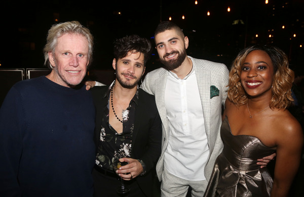 Gary Busey, Mike Squillante, Producer Jesse Murphy and Kim Steele