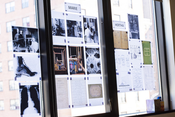 Photo Flash: In Rehearsal with THE HALF-LIFE OF MARIE CURIE