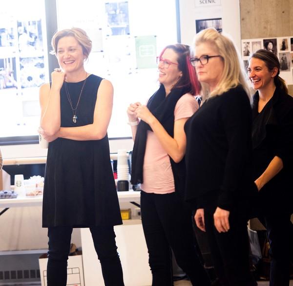 Francesca Faridany, Lauren Gunderson, Kate Mulgrew and Gaye Taylor Upchurch Photo