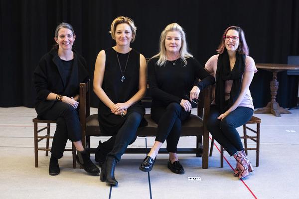 Gaye Taylor Upchurch, Francesca Faridany, Kate Mulgrew and Lauren Gunderson Photo