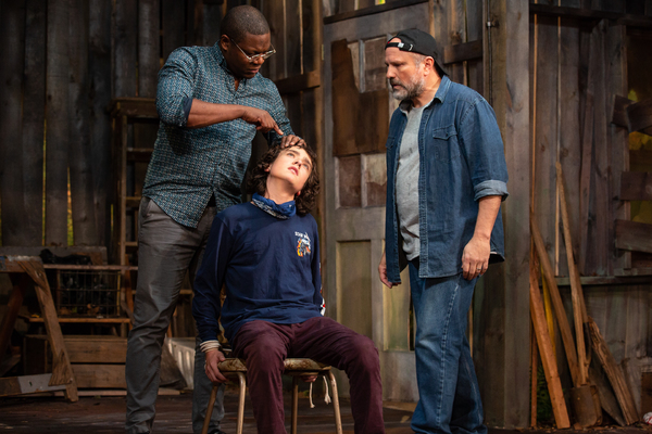 Photo Flash: Matt Williams' FEAR Opens This Week At The Lucille Lortel Theatre