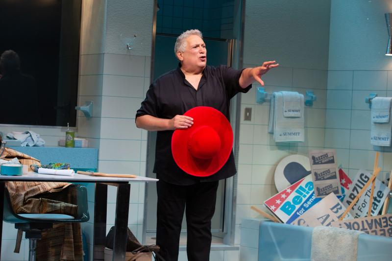 BWW Review: Harvey Fierstein Tips His Hat To The Iconic Abzug in BELLA BELLA