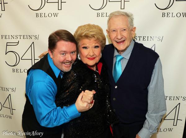 Kevin Alvey, Marilyn Maye, Harvey Evans Photo