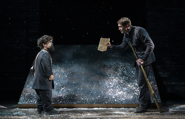 Photo Flash: Get a First Look at Peter Dinklage and the Cast of CYRANO