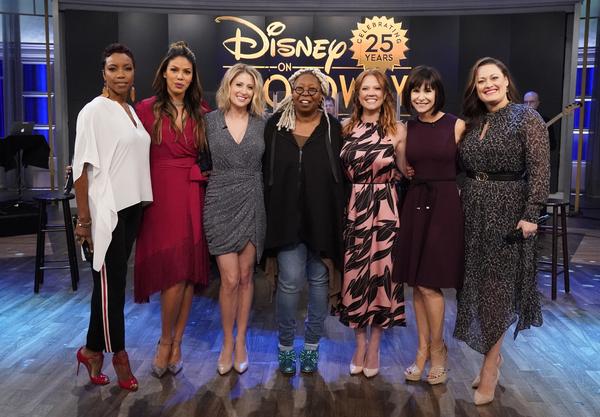 Heather Headley, Merle Dandridge, Caissie Levy, Patti Murin, Susan Egan, and Ashley Brown