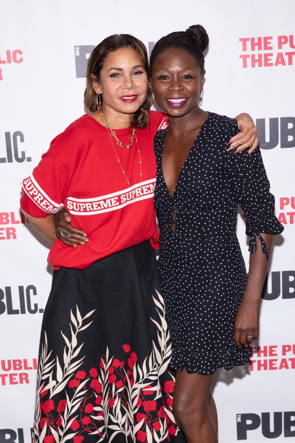 Daphne Rubin-Vega and Zainab Jah