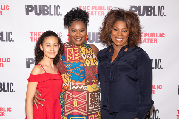 Photo Flash: The Public Theater Celebrates Opening Night of FOR COLORED GIRLS