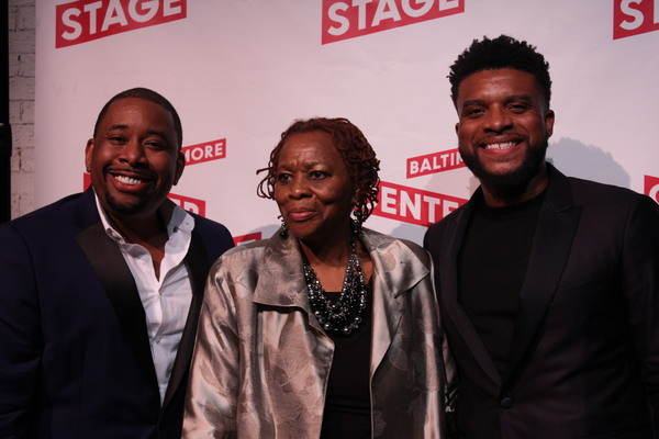 Brian Moreland, Thelma Jones, Keenan Scott II Photo
