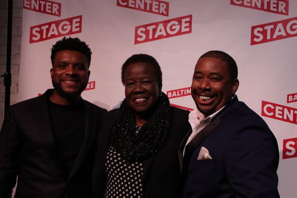 Keenan Scott II, Brian Moreland, and guests Photo
