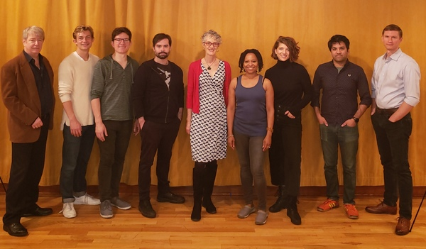 Photo Flash: Meet The Cast of The Off-Broadway Premiere of CONFIDENCE (AND THE SPEECH)