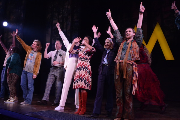The Cast of Scotland, Pa. that includes Jeb Bron, Jay Armstrong Johnson Taylor Iman J Photo