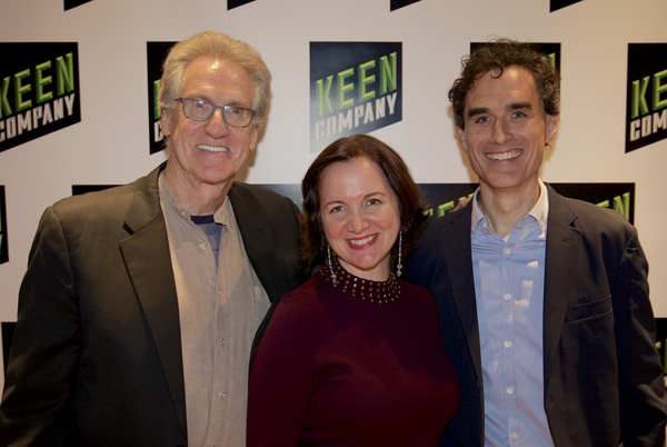 Photo Flash: Keen Company Celebrates Opening Night of MOLLY SWEENEY