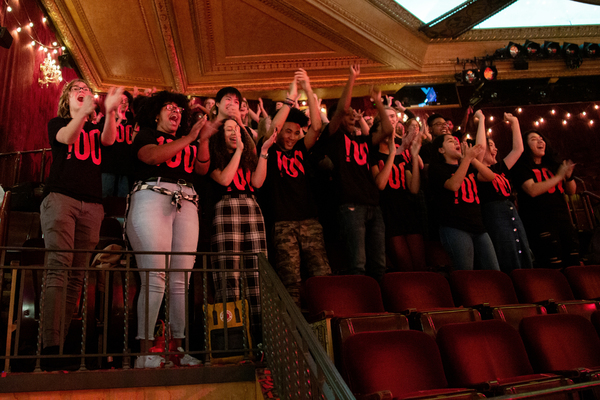 Photo Coverage: MOULIN ROUGE! Celebrates 100th Performance