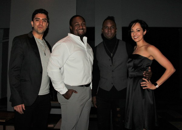 Abraham Makany, Shabazz Green, Roderick Lawrence and Salma Shaw Photo
