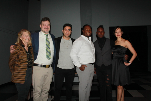 Cherry Lanes Frances Hill, Director Kristan Seemel, Abraham Makany, Shabazz Green, Ro Photo