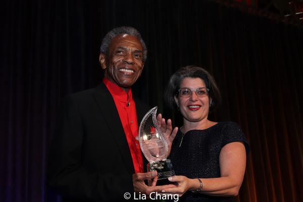Photo Flash: André De Shields, Leslie Jordan And Stacey Friedman Honored At SAGE Awards & Gala