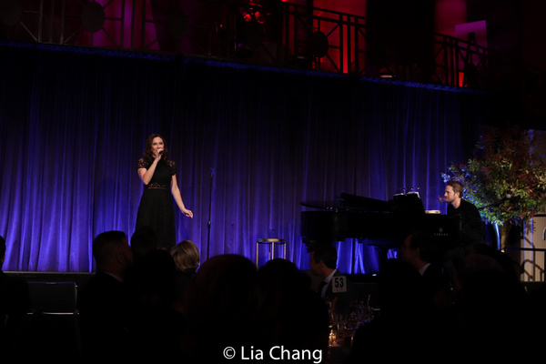 Laura Benanti and Todd Almond