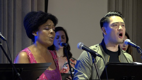 Photo Flash: Inside ASCAP Musical Theatre's Workshop Of RIO UPHILL: A NEW MUSICAL
