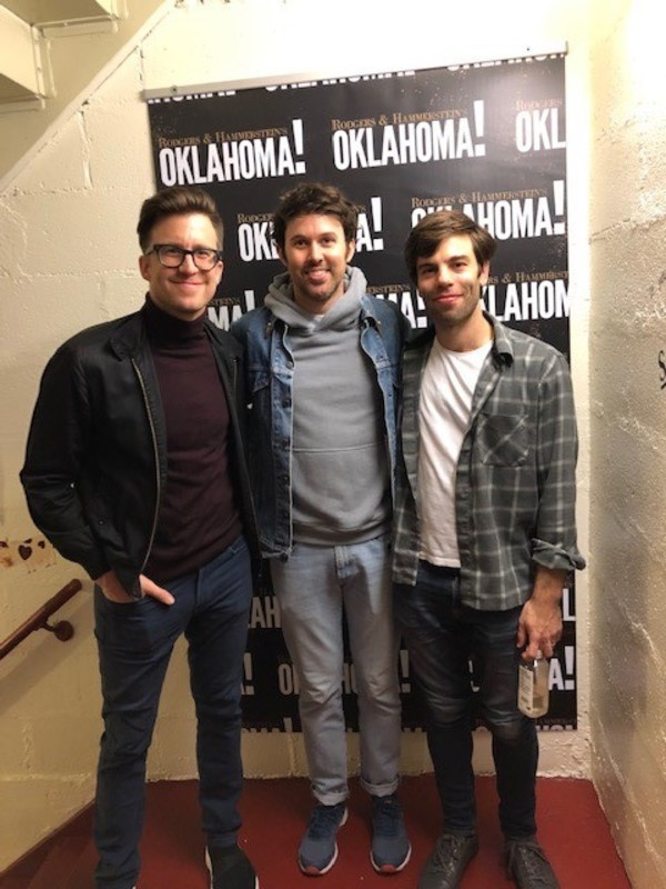 Gavin Creel, James Baker, Chris Bannow Photo
