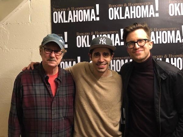 Mitch Tebo, Damon Daunno, Gavin Creel Photo