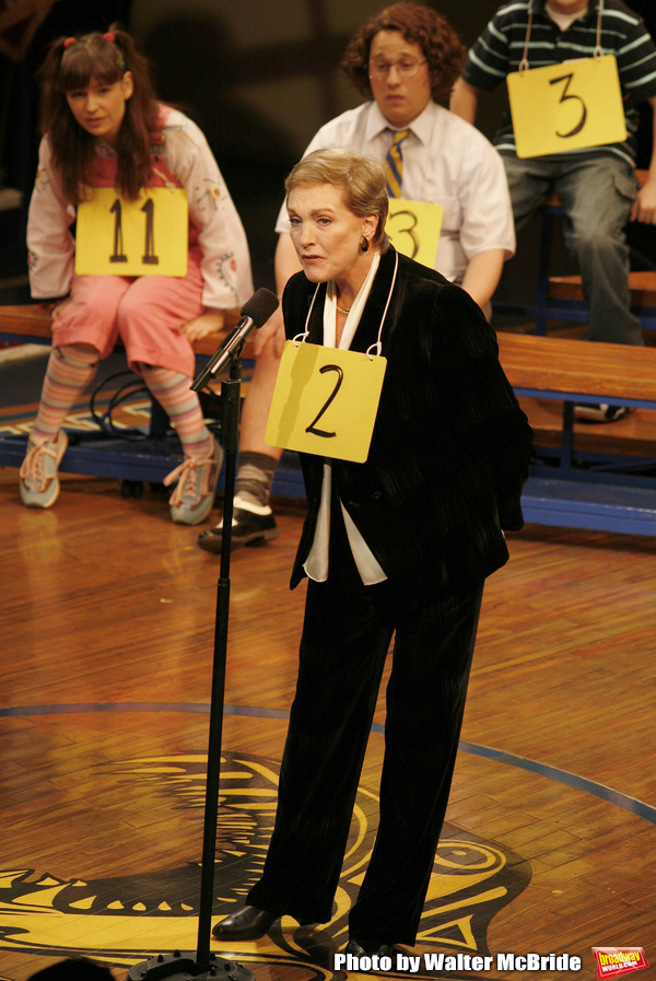 Photo Flashback: Julie Andrews Makes a Cameo at THE 25th ANNUAL PUTNAM COUNTY SPELLING BEE