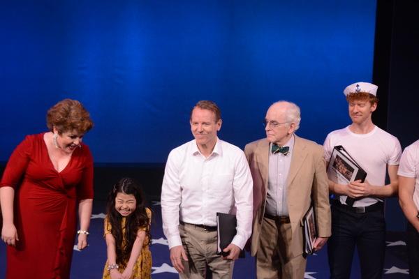 Klea Blackhurst, Kylie Kuioka, Stephen Borgardus, Gordon Stanley and Joe Veale Photo