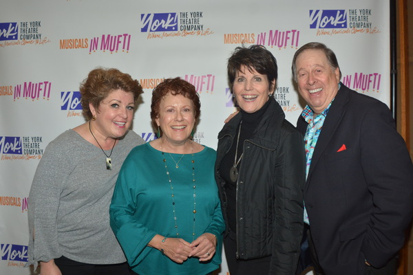 Klea Blackhurst , Judy Kaye, Lucie Arnaz and David Green Photo