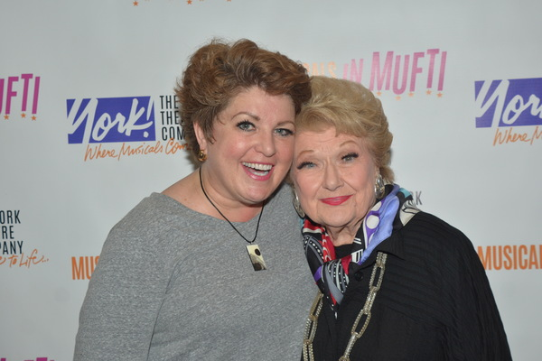 Klea Blackhurst and Marilyn Maye
