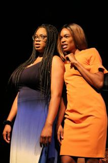BWW Review: SINGLE BLACK FEMALE at Buriel Clay examines the hardships of finding Mr. Right for two successful, single Black females.