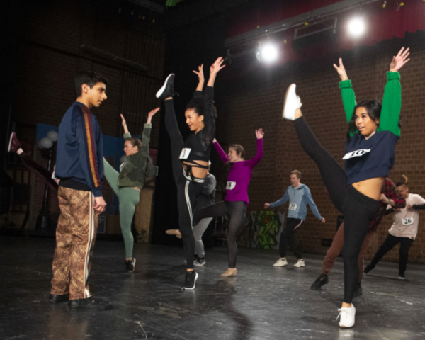 Photo Flash: Get a First Look at HIGH SCHOOL MUSICAL: THE MUSICAL: THE SERIES