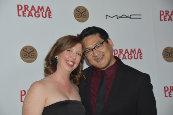 Laura Brandel (Gala Director) and Timothy Huang Photo