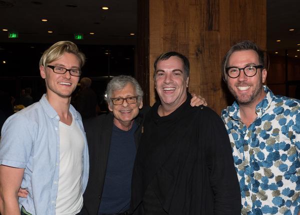 Ken Werther, Byron Batista, and Lighting Designer Steven Young