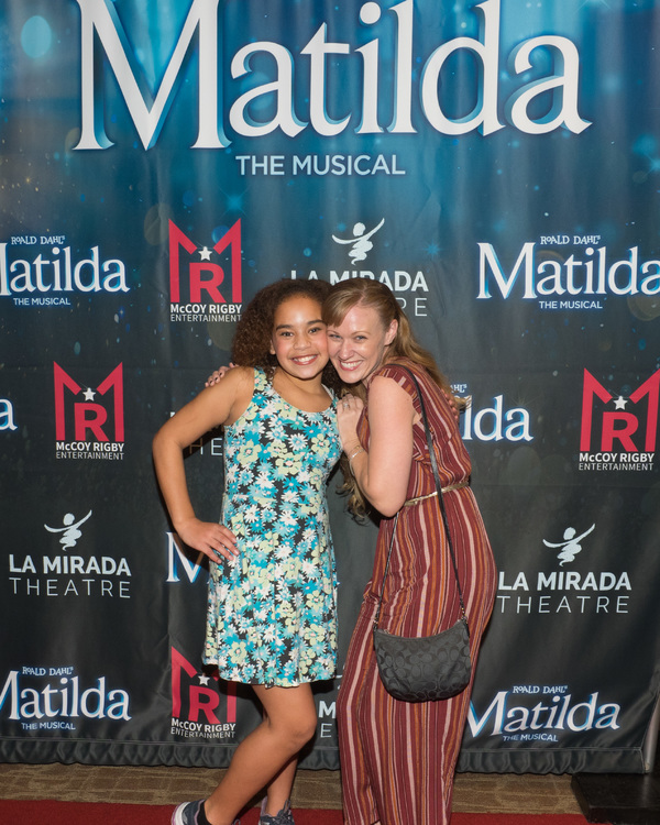 Photo Coverage: Curtain Call And Press Night Celebration of MATILDA THE MUSICAL At La Mirada Theatre