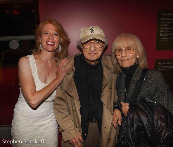 Deborah Grace Winer, Sheldon Harnick, Margo Photo