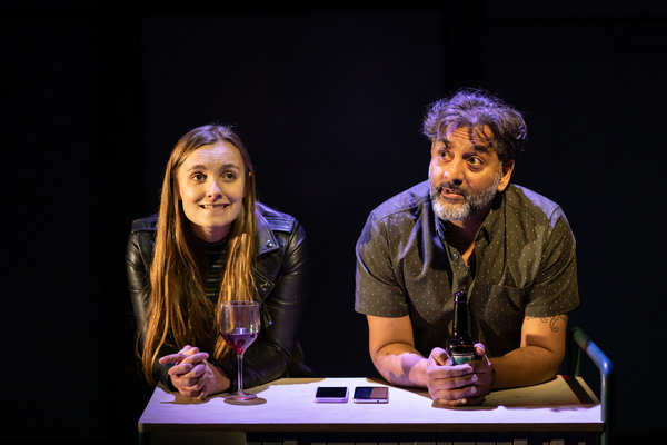 Photo Flash: First Look at GOD'S DICE at Soho Theatre