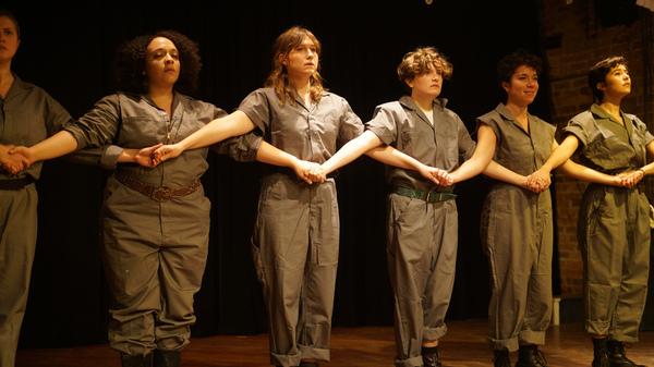 Sarah Gionvannetti, Sonia Goldberg, Ariana Silvan-Grau, Lyle Sauer, Isabel Thompson a Photo