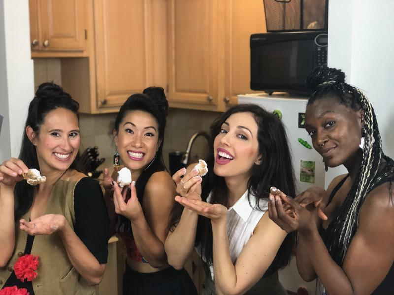 Backstage Bite with Katie Lynch: The Fates of HADESTOWN are Livin' It Up in the Kitchen!