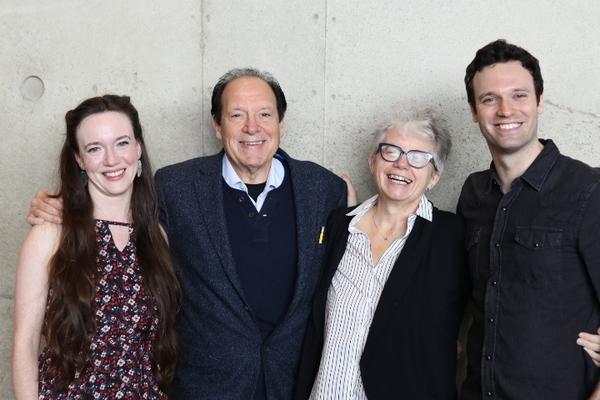 Amelia Pedlow, Ken Ludwig, Jackie Maxwell and Jake Epstein Photo