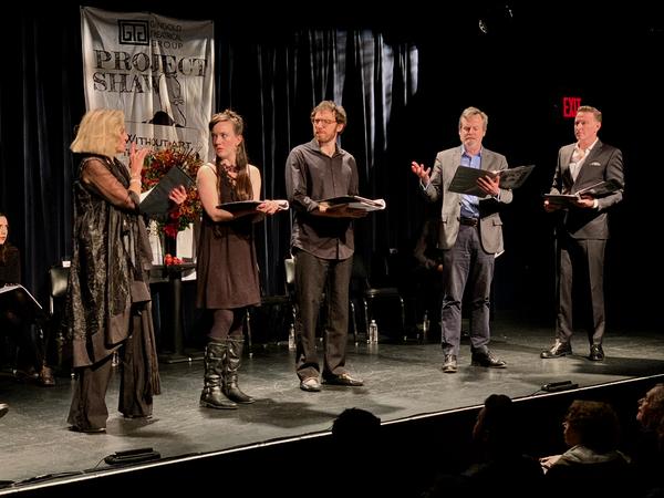Alison Faser, Amelia Pelow, Max Gordon Moore, Bradford Cover and Ben Davis Photo