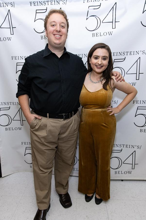 Ben Caplan and Jen Sandler Photo