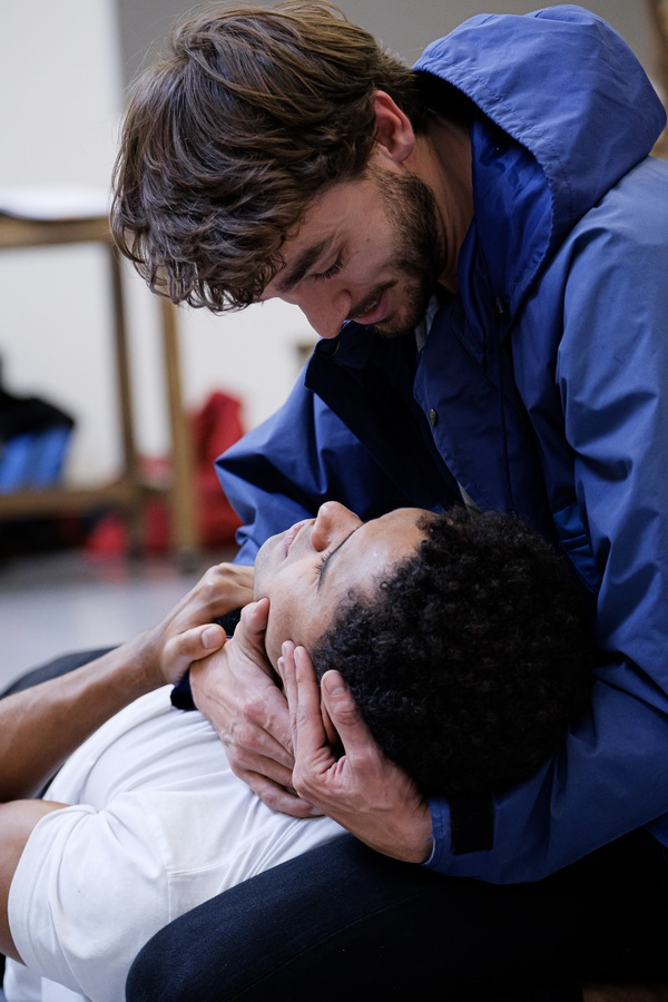 Photo Flash: Inside Rehearsal For TOUCHING THE VOID at the Duke of York's Theatre