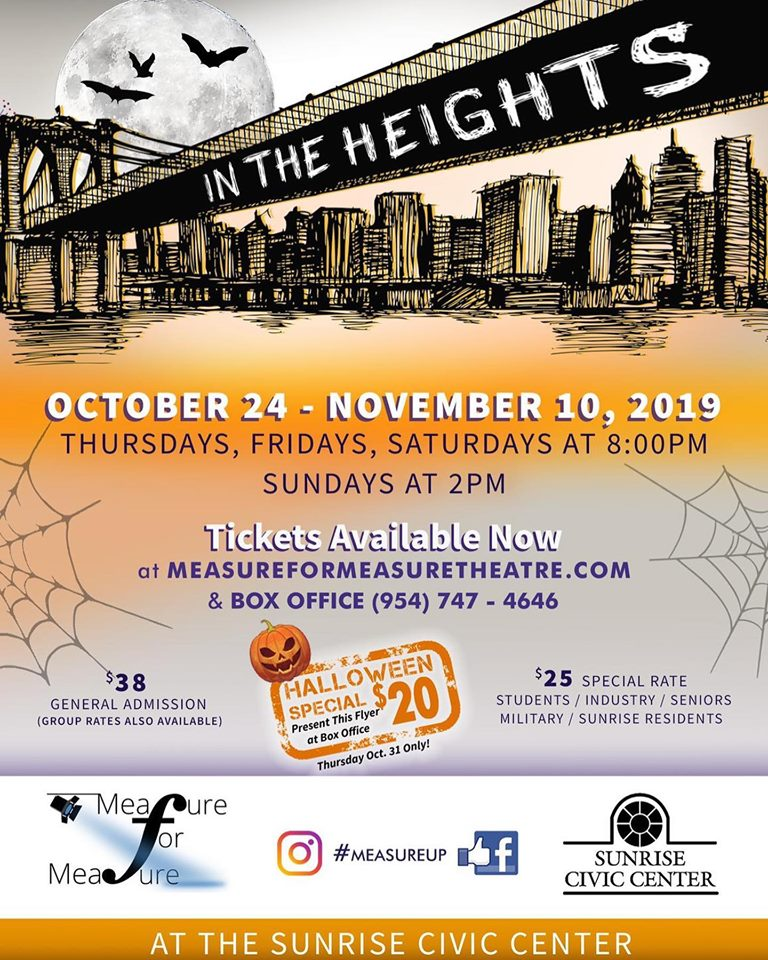 Measure for Measure Theatre's IN THE HEIGHTS Opens to Rave Reviews, Recommended for Carbonells