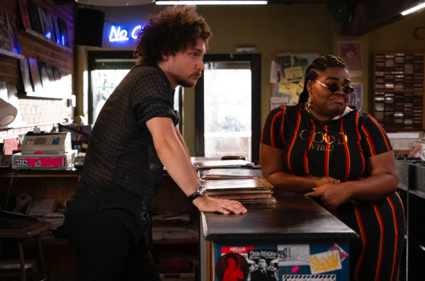 Photo Flash: Get a First Look at Zoe Kravitz in Hulu's HIGH FIDELITY